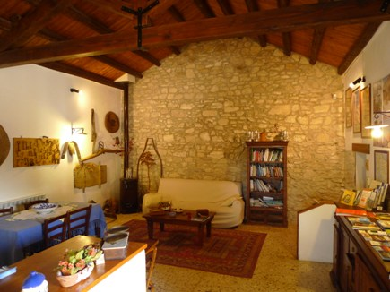 La casa bed and breakfast agriturismo sicilia camere for Case ristrutturate immagini